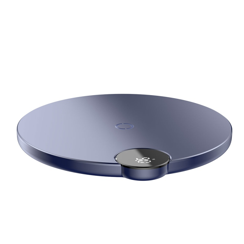 Baseus Digtal LED Display Wireless Charger Blue