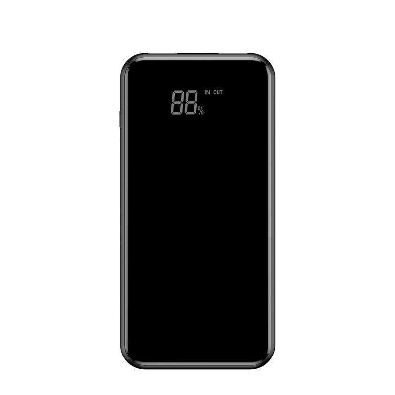 Baseus Full Screen Bracket Wireless Charge Power Bank 8000mAh Black