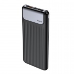 Baseus Thin QC3.0 M+T Daul Input Digital Display Power Bank 10000mAh Black
