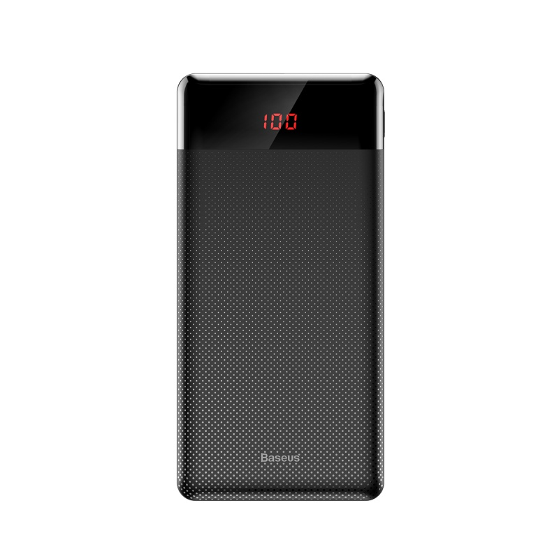 Baseus Mini Cu Digital Display Power Bank 10000mAh Black