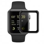 COTEetCI 4D Black-Rim Full Glue Glass for Apple Watch 42mm