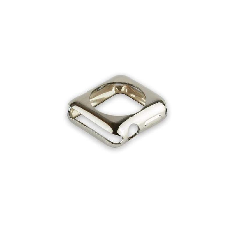COTEetCI Apple Watch 1 / 2 / 3 TPU Case 42mm Silver