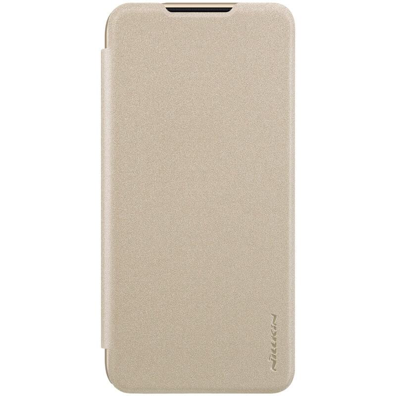 Nillkin Sparkle Leather Case pro Xiaomi Redmi 7 Gold