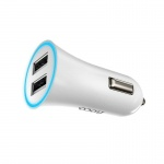 Hoco Car Charger (White)