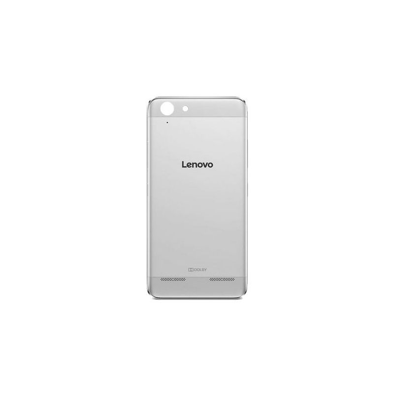 Lenovo K5 Back Cover Silver