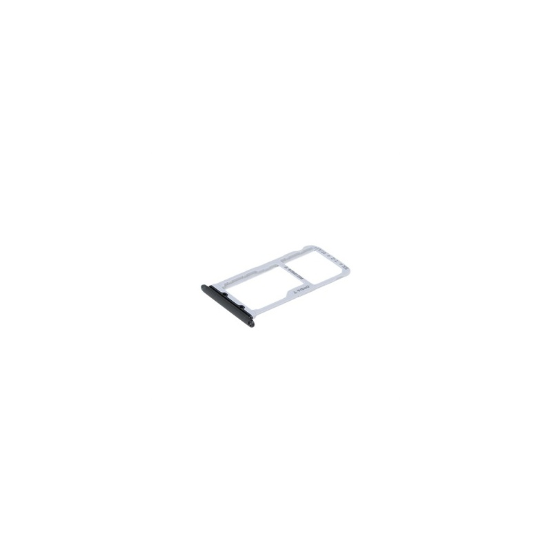Huawei Honor 9 SIM/SD Card Holder Black (Service Pack)