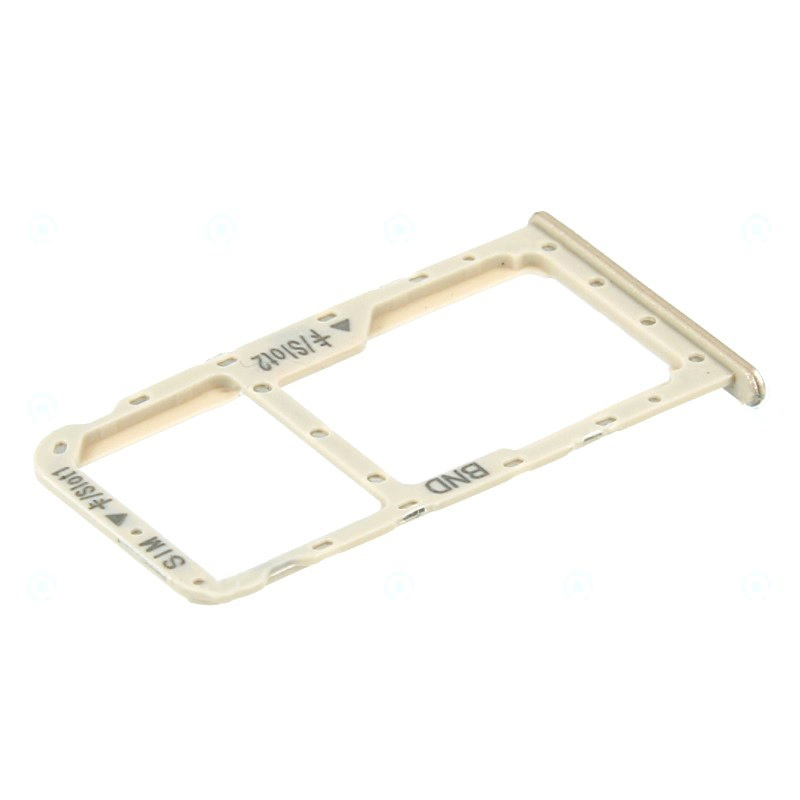 Huawei Honor 7X SIM/SD Card Holder Gold (Service Pack)