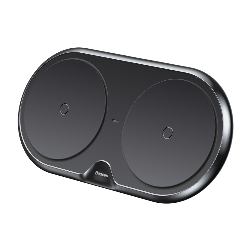 Baseus Dual Wireless Charger Black