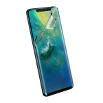 Baseus 0.15mm Full-Screen Curved Anti-Explosion Soft Tempered Glass for Mate 20 Pro Black