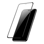 Baseus 0.2mm All-Screen Arc-Surface Tempered Glass Film for iPhone XS Max Black