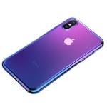 Baseus Glow Case for iPhone XS Max Transparent Dark Blue