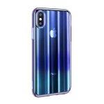 Baseus Aurora Case for iPhone XS Max Transparent Blue