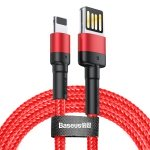 Baseus Cafule Cable USB for iPhone 1.5A 2M Red