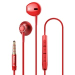 Baseus Encok H06 Lateral In-Ear Wired Earphone Red