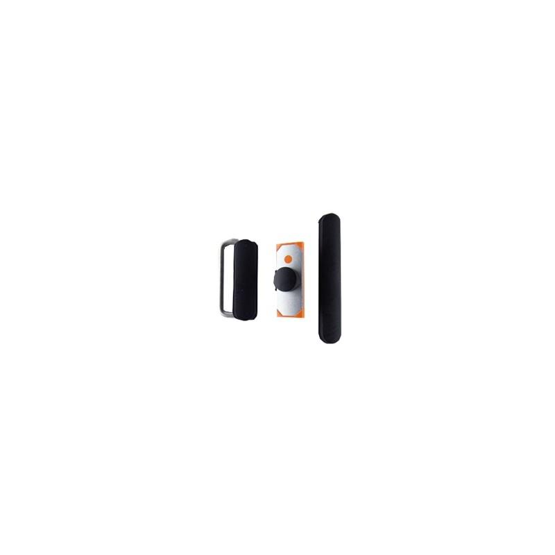 3 pcs set (volume/mute button/power) Black pro Apple iPad 3