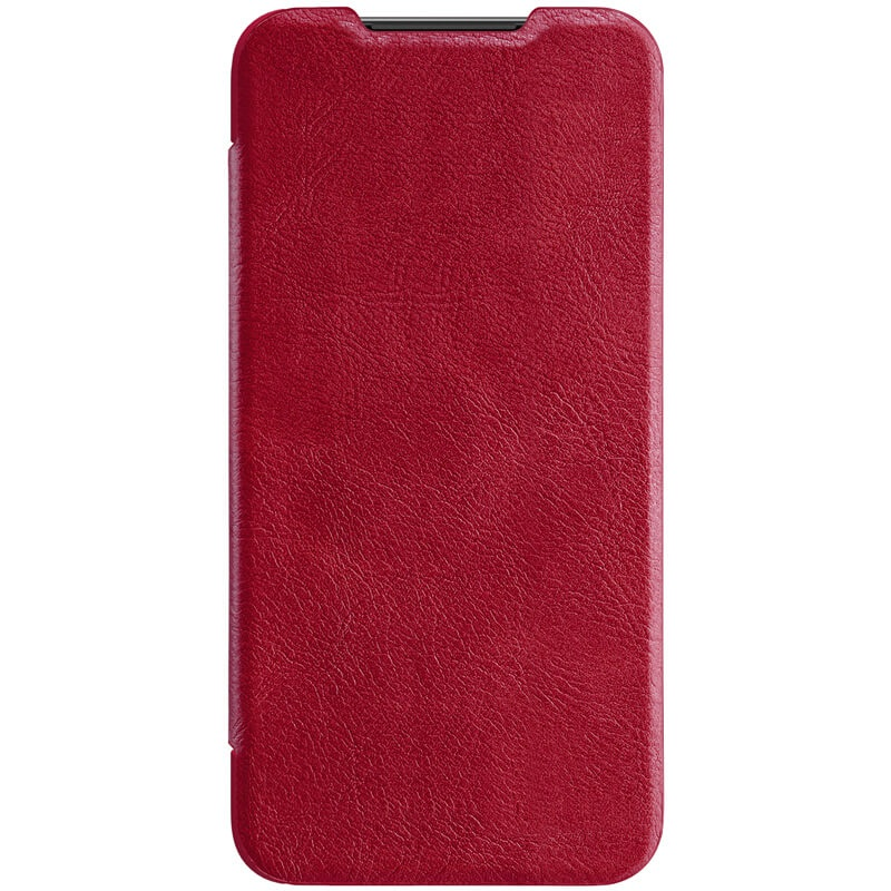 Nillkin Qin Leather Case pro Xiaomi Mi9 SE Red