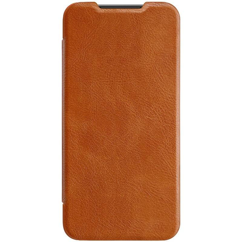Nillkin Qin Leather Case pro Xiaomi Mi9 SE Brown