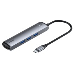 Baseus Mechanical Eye Six-in-one Smart HUB Docking Station (Type-C to PD of HDMI, USB3.03)