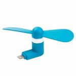 Mini USB Fan pro Lightning Blue