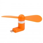 Mini USB Fan pro Lightning Orange