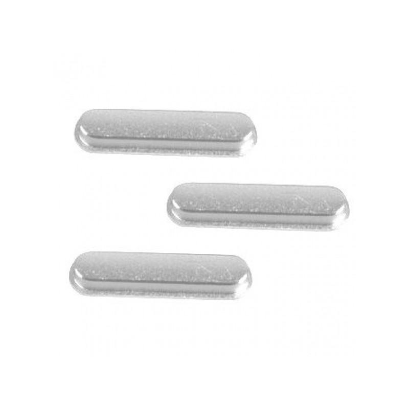 3 pcs set (volume/mute button/power) Silver pro Apple iPad 6 (Air 2)