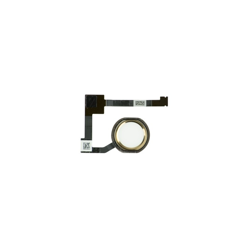 Home Button Assembly Gold pro Apple iPad 6 (Air 2)