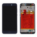 Huawei P9 Lite / Honor 8 Lite LCD + Touch + Frame + Battery - Blue (Service Pack)