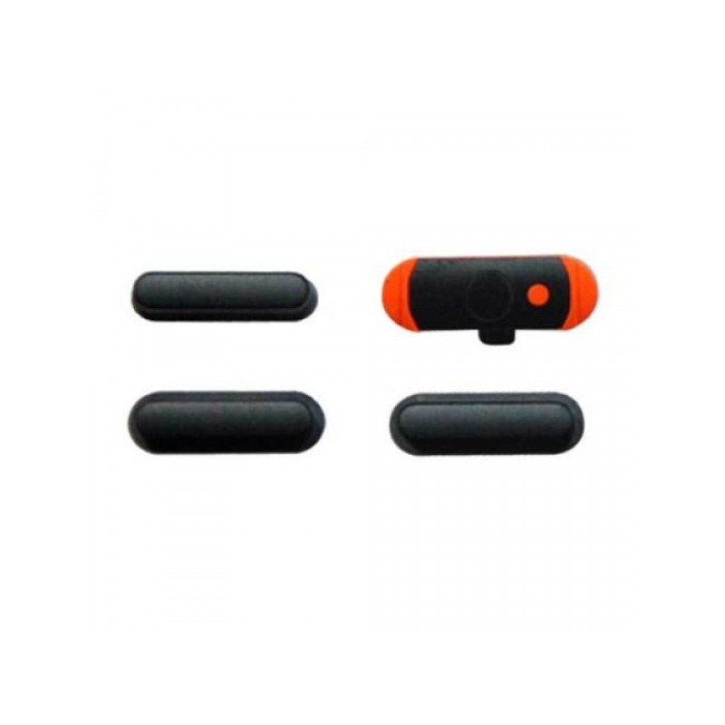 3 pcs set (volume/mute button/power) Space Grey pro Apple iPad Mini 1