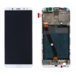 Huawei Mate 10 Lite LCD + Touch + Frame + Battery - Gold White (Service Pack)