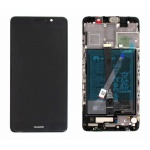 Huawei Mate 9 LCD + Touch + Frame + Battery - Black (Service Pack)