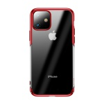 Baseus Glitter Case for Apple iPhone 11 Transparent-Red