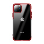 Baseus Glitter Case for Apple iPhone 11 Pro Max Transparent-Red