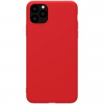 Nillkin Rubber Wrapped Protective Case for Apple iPhone 11 Pro Max Red