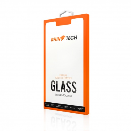 RhinoTech 2 Tvrzené ochranné 2.5D sklo pro Xiaomi Mi Max 3 (Edge Glue) Black