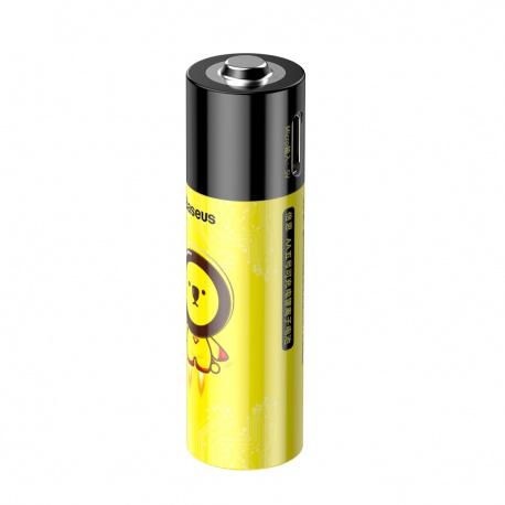 Baseus AA Rechargeable Micro USB Li-ion Battery 2 PCS