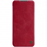 Nillkin Qin Leather Case for Xiaomi Redmi Note 8T (Bright Red)