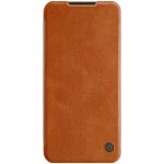 Nillkin Qin Leather Case for Xiaomi Redmi Note 8T (Brown)