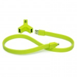 TYLT Y-CHARGE - 2.1A + Syncable Green