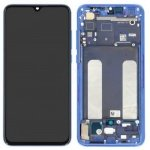 Xiaomi Mi 9 Lite LCD + Touch + Frame - Blue (Service Pack)