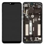 Xiaomi Mi 8 Lite LCD + Touch + Frame - Grey (Service Pack)
