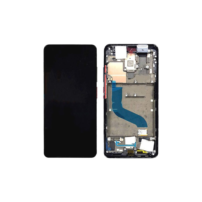 Xiaomi Mi A3 LCD + Touch + Frame Blue (Service Pack)