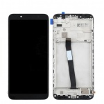 Xiaomi Redmi 7A LCD + Touch + Frame - Black (Service Pack)