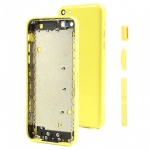 Back Cover Yellow pro Apple iPhone 5C