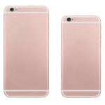 Back Cover Rose Gold pro Apple iPhone 6 Plus