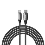 Baseus BMX Sequins MFi Certified Cable Type-C to Lightning PD 18W 1.8M Black