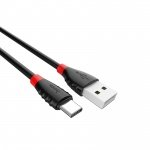 Hoco Excellent Charge Data Cable - Type-C (1.2m) (Black)