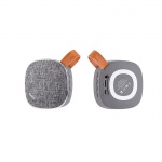 Hoco Light Textile Desktop Wireless Speaker (Grey)