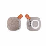 Hoco Light Textile Desktop Wireless Speaker (Brown)