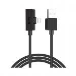 Hoco Brilliant Digital Audio Charging Cable for Lightning (1.2m) (Black)