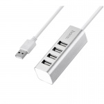Hoco 4 USB Line Machine Silver